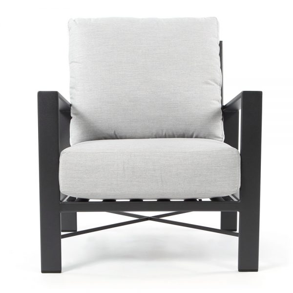 OW Lee Gios outdoor lounge chair front view