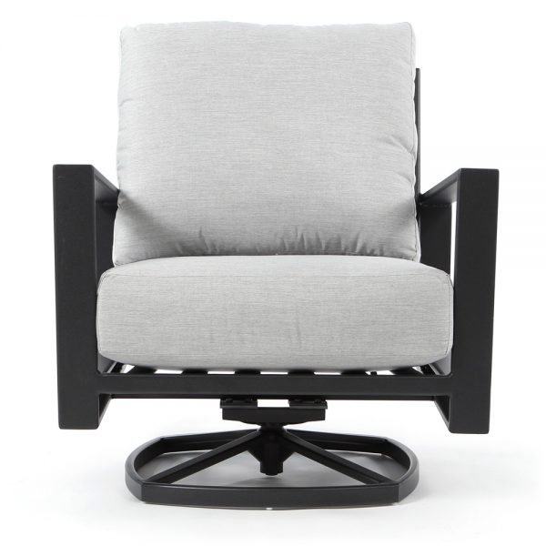 OW Lee Gios swivel club chair front view