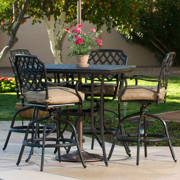 Agio Heritage aluminum outdoor bar furniture