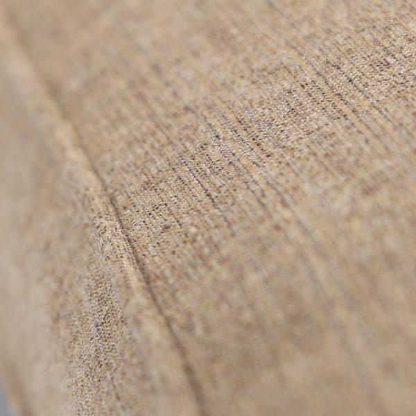 Agio Heritage outdoor sofa with Sunbrella 8318 Sesame Linen fabric