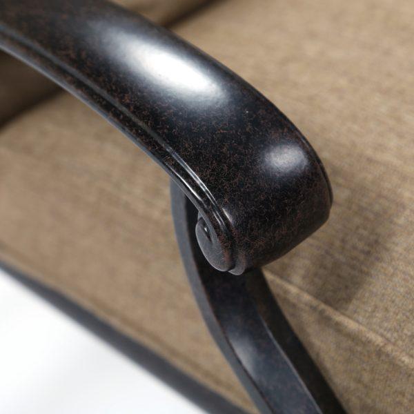 Agio aluminum patio furniture with a Aged Bronze frame finish