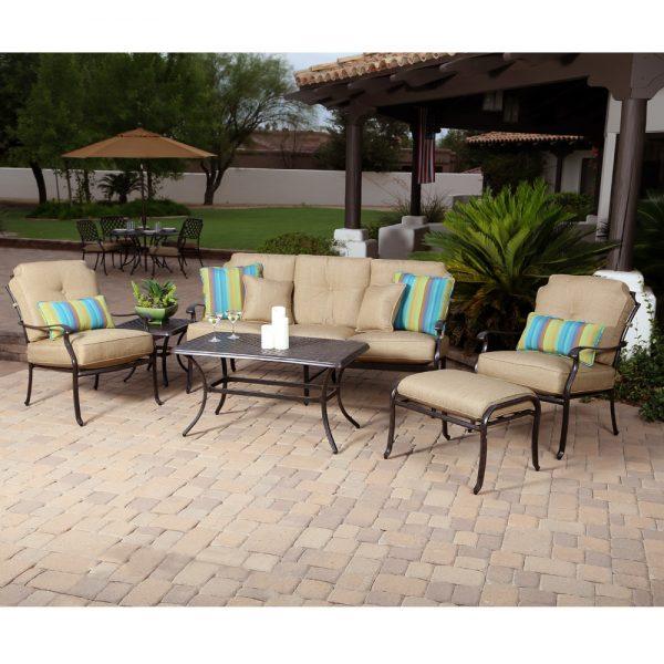 Agio Heritage aluminum patio furniture