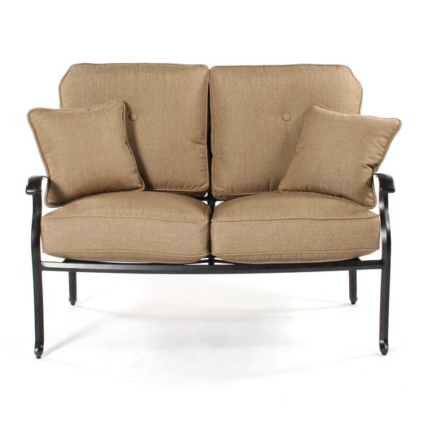 Heritage love seat front