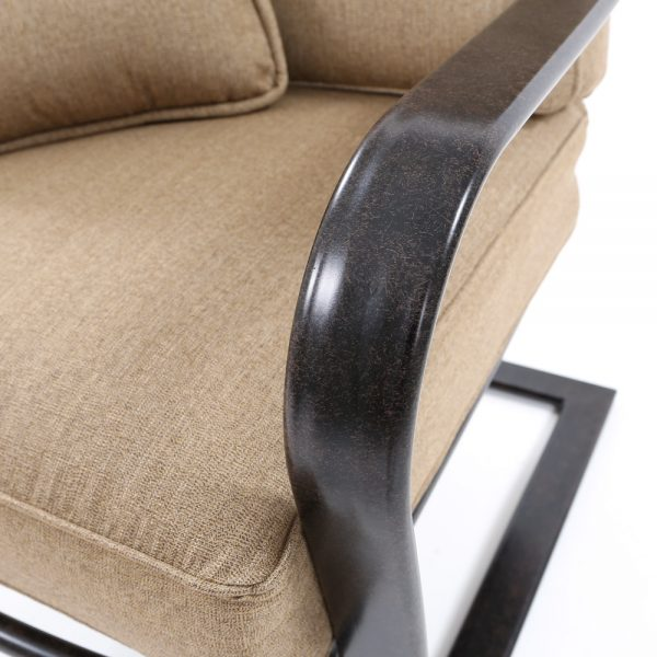Agio Heritage patio furniture with a Aged Bronze frame finish