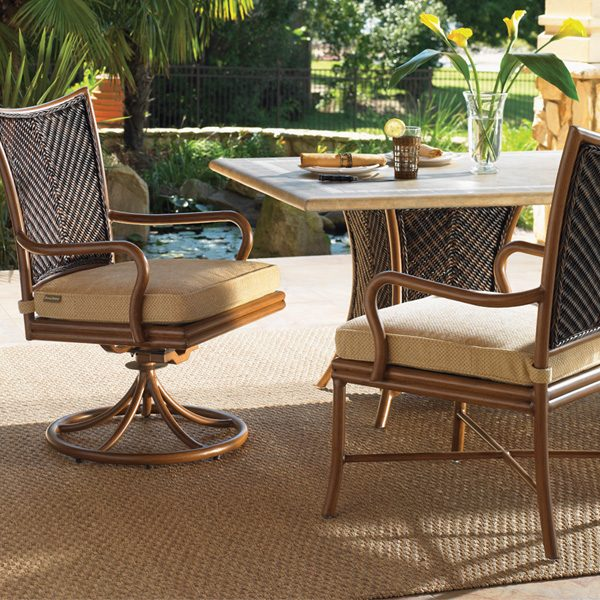 Tommy Bahama Island Estate Lanai outdoor wicker dining furniture