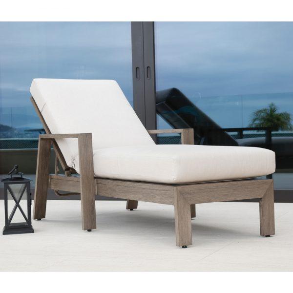 Sunset West aluminum chaise lounge