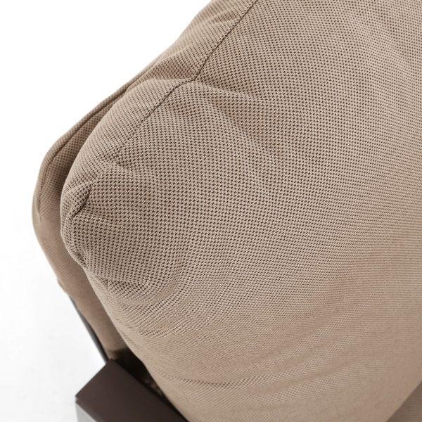 Tropitone Lakeside Sunbrella Timber fabric detail