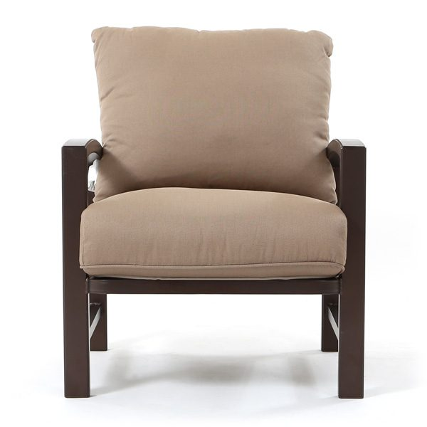 Tropitone Lakeside outdoor club chair front view