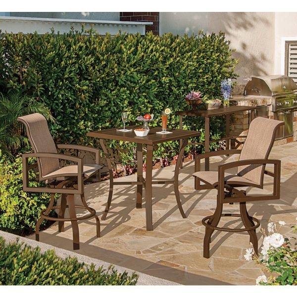 Tropitone Lakeside sling patio furniture collection