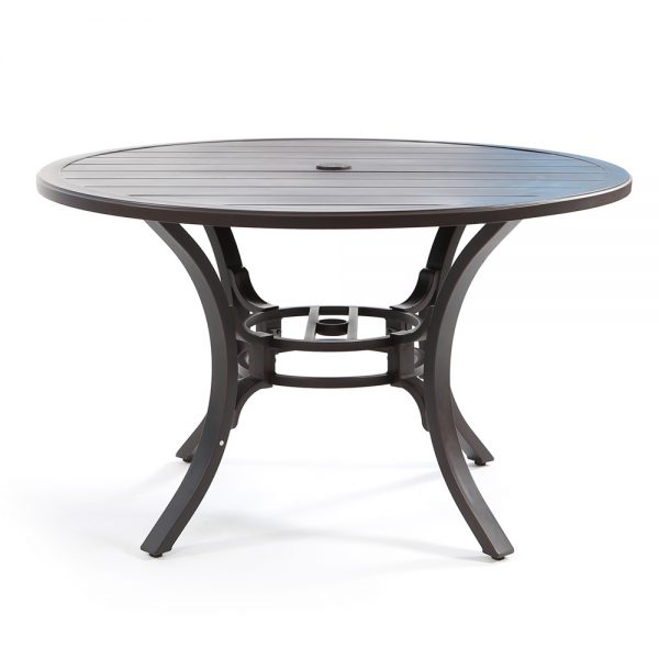 Laurel patio dining table front view