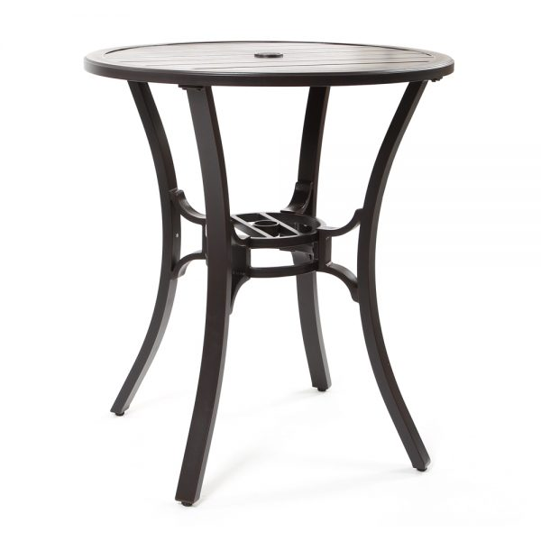 "Sunvilla Laurel 36"" round bar table"