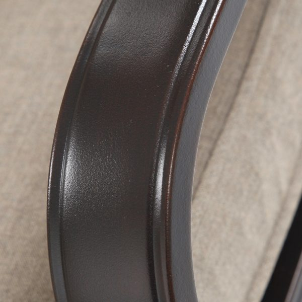 Sunvilla aluminum chaise lounge with a copperhead finish