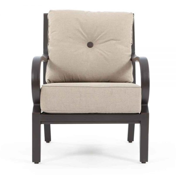 Sunvilla Laurel outdoor lounge chair front view
