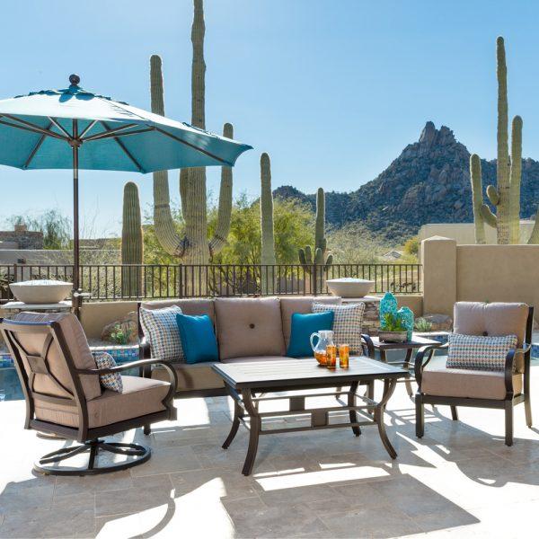 Laurel aluminum outdoor furniture