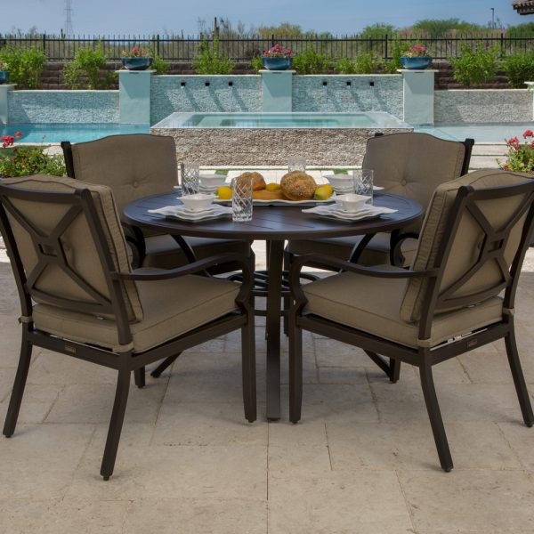 Laurel aluminum dining furniture
