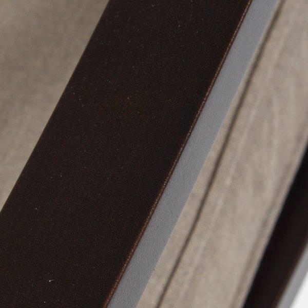 Sunvilla aluminum swivel rocker with a Copperhead powder coat finish
