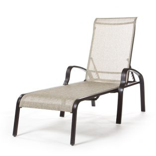 Laurel sling chaise lounge