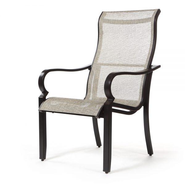 Laurel sling dining chair