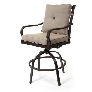 Laurel swivel barstool