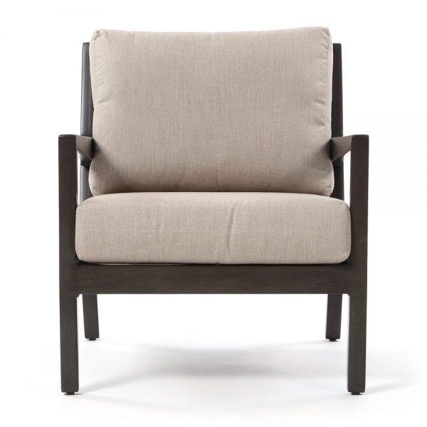 Ratana Lucia outdoor club chair front view