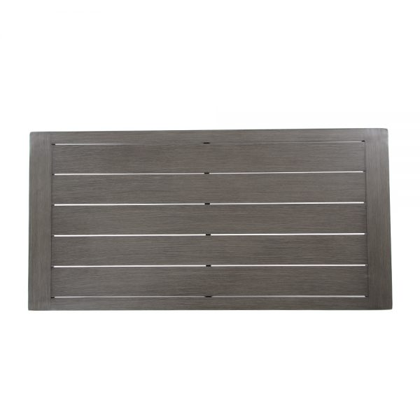 Lucia outdoor coffee table top view