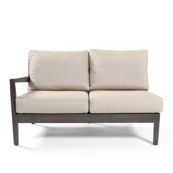 Ratana Lucia right arm love seat section front view
