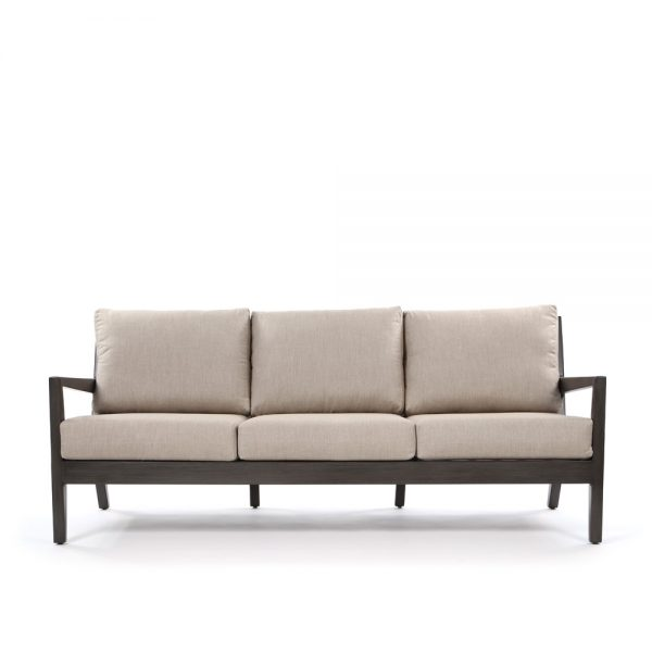Lucia outdoor sofa front view