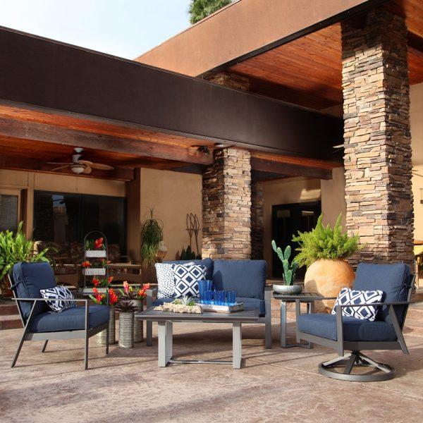 Pride Castelle Trento patio furniture collection