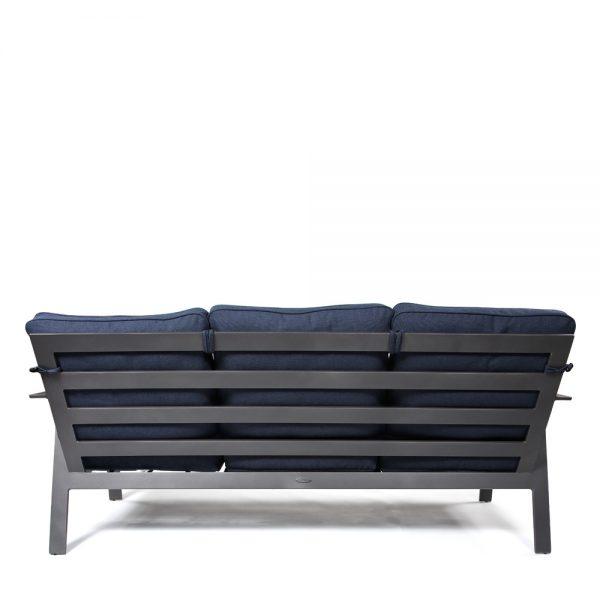 Trento outdoor sofa back view