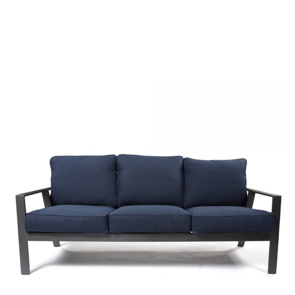 Castelle Luxe patio sofa front view