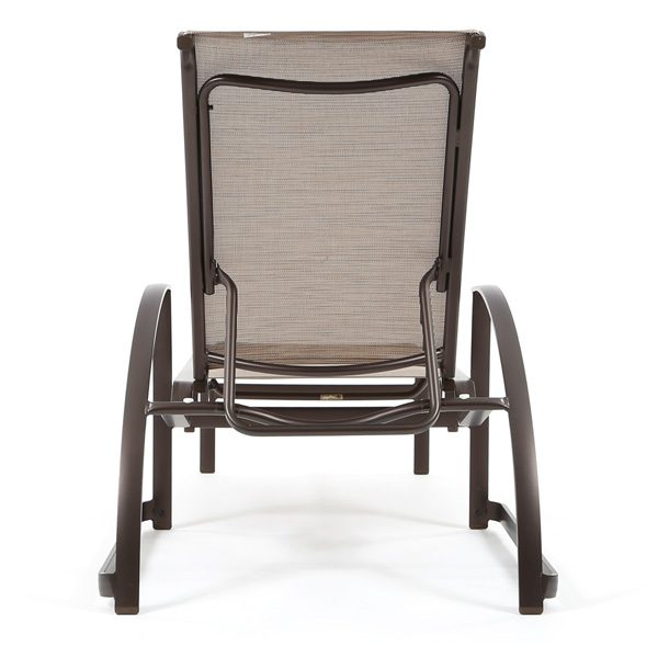 Mainsail sling adjustable chaise lounge back view