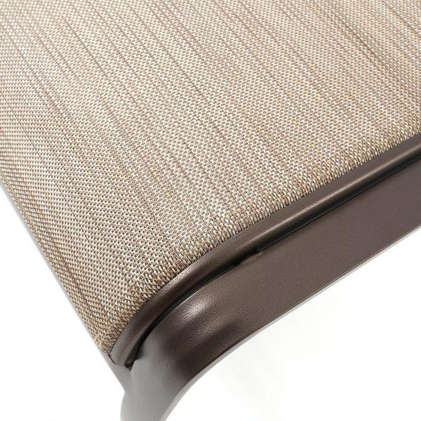 Tropitone Mainsail sling Calistoga fabric detail