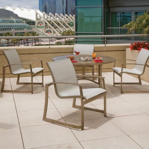 Tropitone Mainsail Sling aluminum furniture