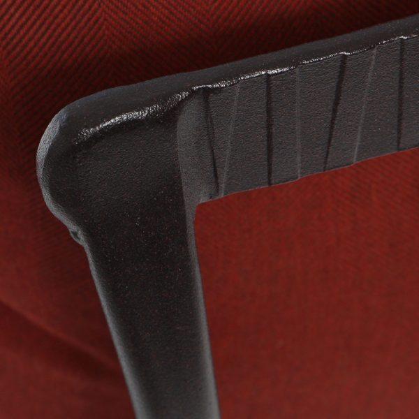 OW Lee Monterra Rosewood wrought iron frame finish detail