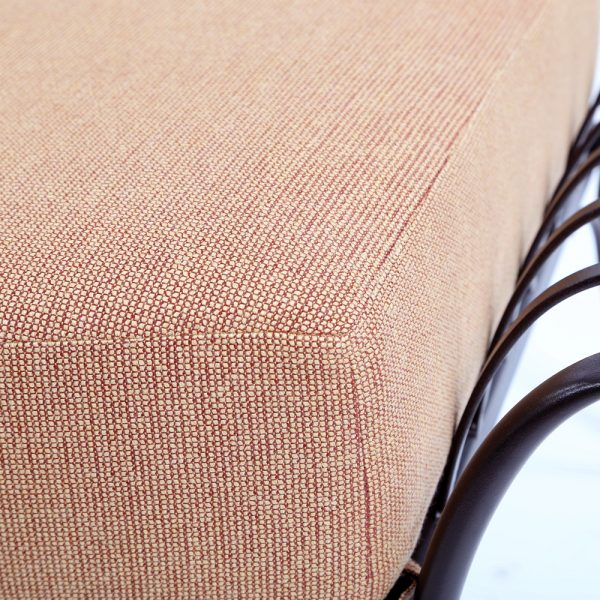 O.W. Lee Monterra Sunbrella Canyon Russet fabric detail