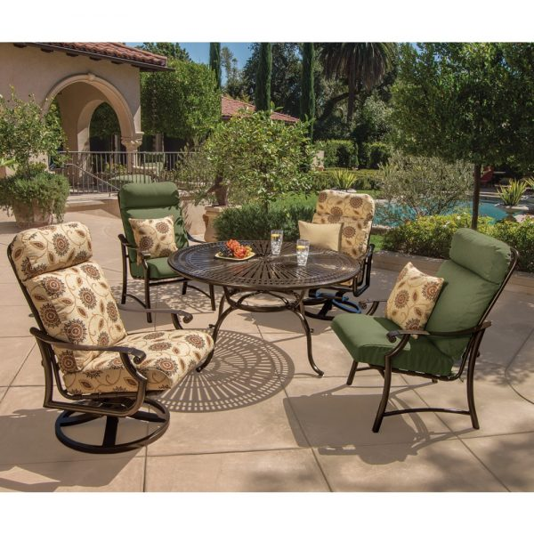 Tropitone Montreux II outdoor high back dining chair