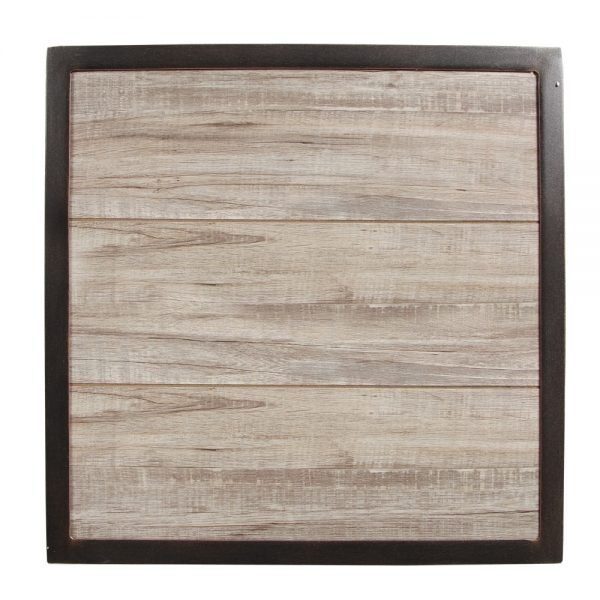 Apricity Oak Grove side table top view