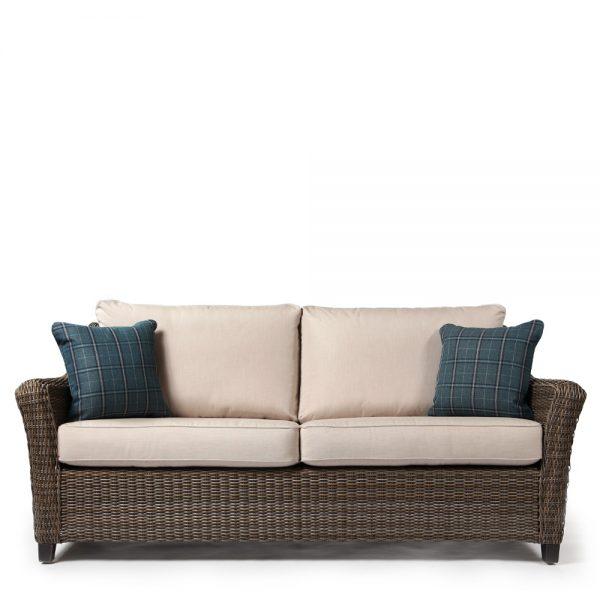 Agio Oak Grove outdoor sofa front view