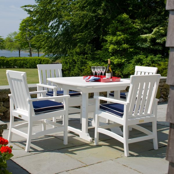 """Portsmouth 42"""" square patio dining table"""