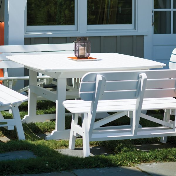 Seaside Casual Portsmouth outdoor dining table