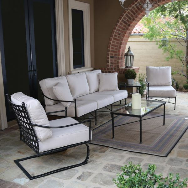 Sunset West wrought patio furniture