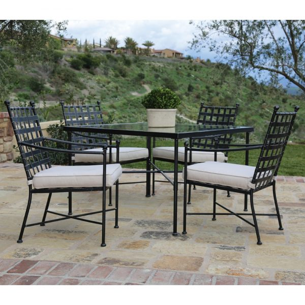 Sunset West Provence wrought iron dining furniture