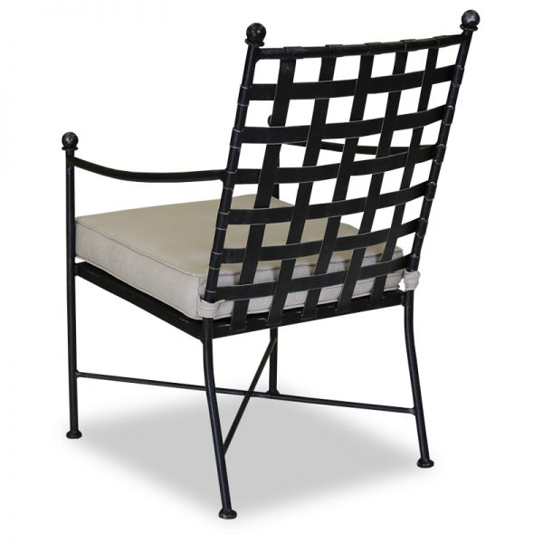 Sunset West Provence dining chair back view