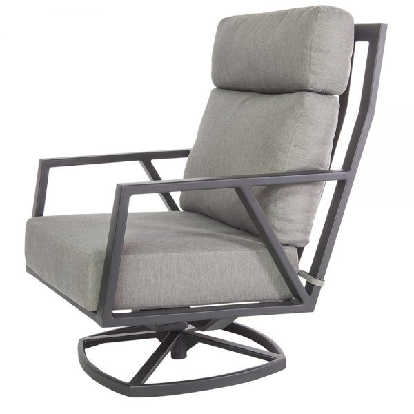 Aris swivel rocker lounge chair