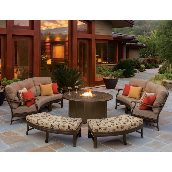 Tropitone sectional outdoor furniture