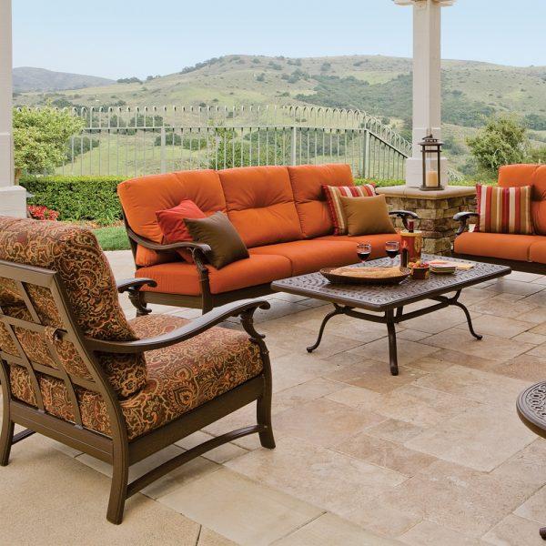 Tropitone Ravello patio furniture collection