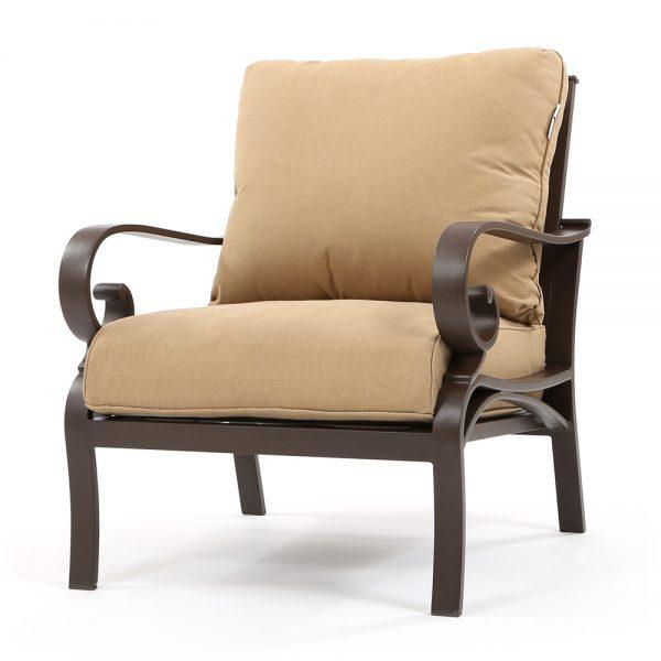 Sunvilla Riva outdoor aluminum club chair