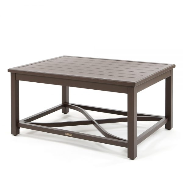 Riva outdoor aluminum coffee table