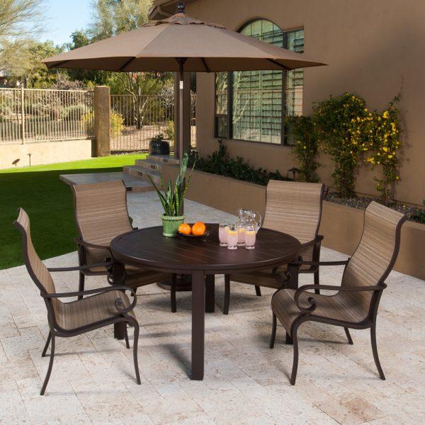 Sunvilla Riva aluminum dining furniture