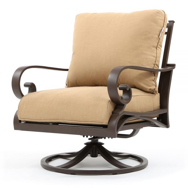Riva swivel club chair